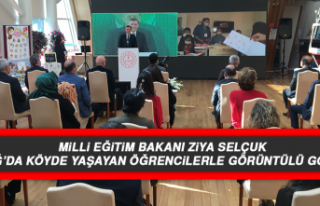 Bakan Selçuk, Elazığ'da Köyde Yaşayan Öğrencilerle...