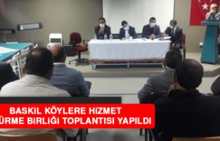 Baskil Köylere Hizmet Götürme Birliği Toplantısı...