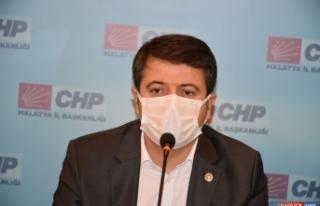 CHP Genel Başkan Yardımcısı Veli Ağbaba Malatya'da...