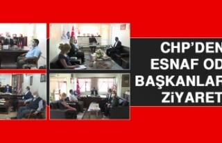 CHP'den Esnaf Oda Başkanlarına Ziyaret