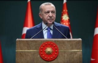 Cumhurbaşkanı Erdoğan: 5'inci ve 9'uncu...