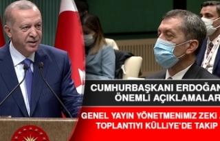 Cumhurbaşkanı Erdoğan, Önemli Açıklamalarda...