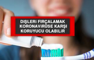 Dişleri Fırçalamak, Koronavirüse Karşı Koruyucu...