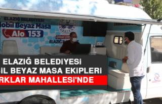 Elazığ Belediyesi Mobil Beyaz Masa Ekipleri Kırklar...