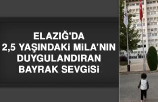 Elazığ'da 2,5 Yaşındaki Mila'nın Duygulandıran...