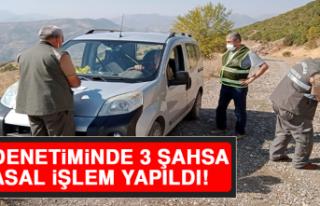 Elazığ'da Av Denetimi 3 Şahsa Yasal İşlem...