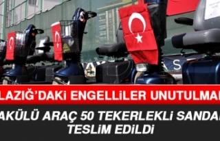 Elazığ'daki Engelli Vatandaşlar Unutulmadı