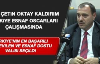Elazığ Eski Valisi Kaldırım'a Yılın Ödülü...
