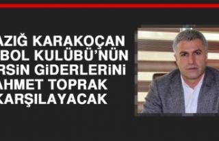 Elazığ Karakoçan FK'nın Mersin Giderlerini Ahmet...