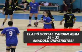 Elazığ Sosyal Yardımlaşma 24 – 32 Anadolu Üniversitesi