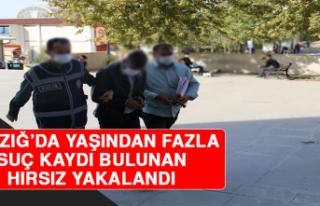 Elazığ'da Yaşından Fazla Suç Kaydı Bulunan...