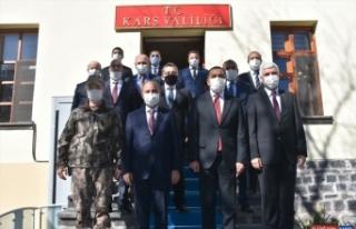 Emniyet Genel Müdürü Mehmet Aktaş Kars'ta ziyaret...