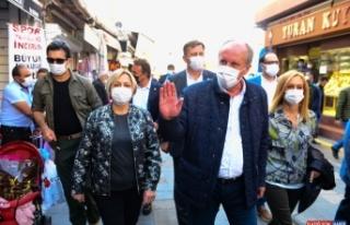 Eski CHP Milletvekili Muharrem İnce, Iğdır ziyaretinde...