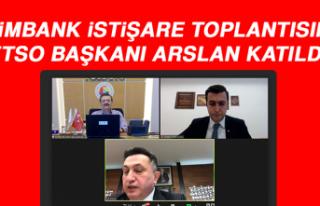 Eximbank İstişare Toplantısına ETSO Başkanı...