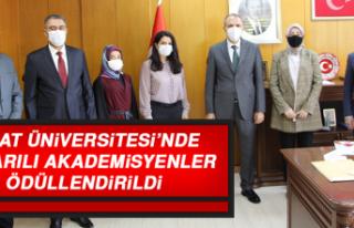 Fırat Üniversitesi'nde Başarılı Akademisyenler...