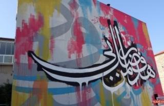 Geleneksel hat sanatı ile grafiti sanatı dünyada...
