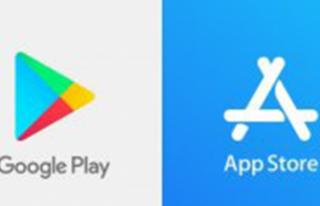 Google Play Store Ve App Store'un Toplam Uygulama...