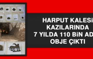 HARPUT KALESİ KAZILARINDA 7 YILDA 110 BİN ADET OBJE...