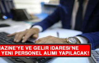 Hazine'ye ve Gelir İdaresi'ne 3 Bin Yeni...