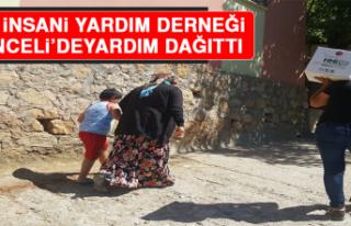 İHH İnsani Yardım Derneği Tunceli'de Yardım...
