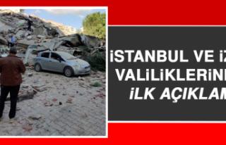 İstanbul ve İzmir Valiliklerinden İlk Açıklama...