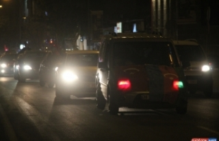 Kars'ta Azerbaycan'a destek için konvoy oluşturuldu