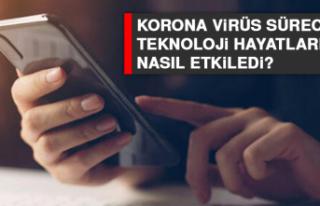 Korona virüs sürecinde teknoloji hayatlarımızı...