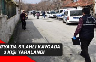 Malatya'da Silahlı Kavgada 3 Kişi Yaralandı