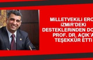 Milletvekili Erol, İzmir'deki Desteklerinden Dolayı...
