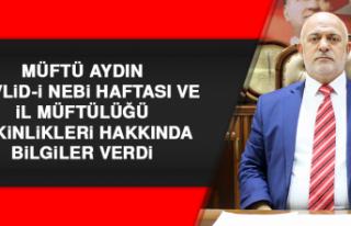 Müftü Aydın, Mevlid-İ Nebi Haftası Etkinlikleri...