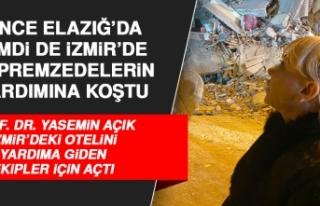 Prof. Dr. Yasemin Açık, İzmir'deki Otelini Depremzede...