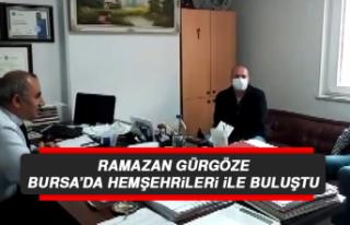 Ramazan Gürgöze, Bursa'da Hemşehrileri İle Buluştu