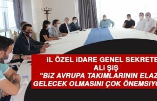 Şiş: Biz Avrupa Takımlarının Elazığ'a Gelecek...