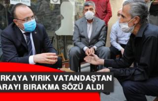 Vali Erkaya Yırık Vatandaştan Sigarayı Bırakma...