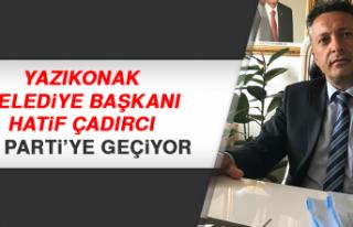 Yazıkonak Belediye Başkanı Çadırcı, AK Partiye...