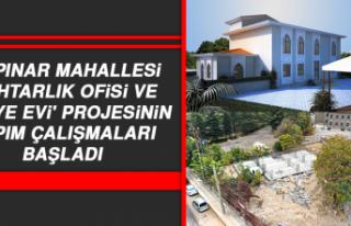 Muhtarlık Ofisi ve Taziye Evi Projesinin Yapım Çalışmaları...