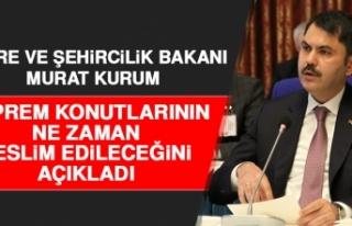 Bakan Kurum, Elazığ'da Konutların Ne Zaman...