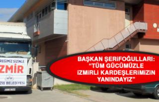 Başkan Şerifoğulları: Tüm Gücümüzle İzmirli...
