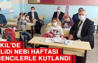 Baskil'de Mevlidi Nebi Haftası Öğrencilerle...