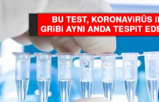Bu Test, Koronavirüs İle Gribi Aynı Anda Tespit...