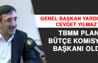 Cevdet Yılmaz, TBMM Plan Bütçe Komisyon Başkanı...