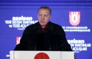 Cumhurbaşkanı Erdoğan: Türkiye ambargoları kendi...