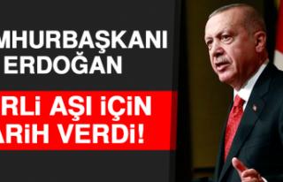 Cumhurbaşkanı Erdoğan Yerli Aşı İçin Tarih...