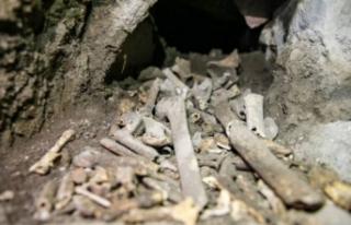 Diyarbakır'da Roma dönemine ait mezar odaları...
