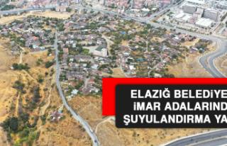 Elazığ Belediyesi İmar Adalarında Şuyulandırma...