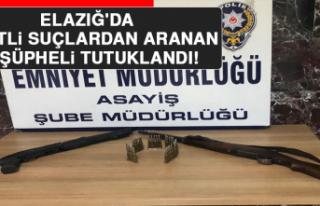 Elazığ'da Çeşitli Suçlardan Aranan 12 Şüpheli...