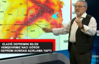 Naci Görür, Bingöl Depremi Sonrası Açıklama...
