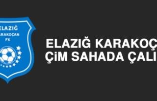 Elazığ Karakoçan, Çim Sahada Çalıştı