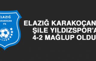 Elazığ Karakoçan FK Evinde Karşılaştığı Şile...