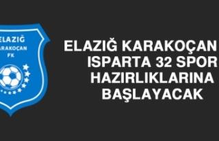 Elazığ Karakoçan FK Isparta 32 Spor Hazırlıklarına...
